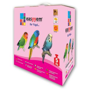 Muhabbetler ve Küçük Papağanlar Yumurta Maması - Easyyem